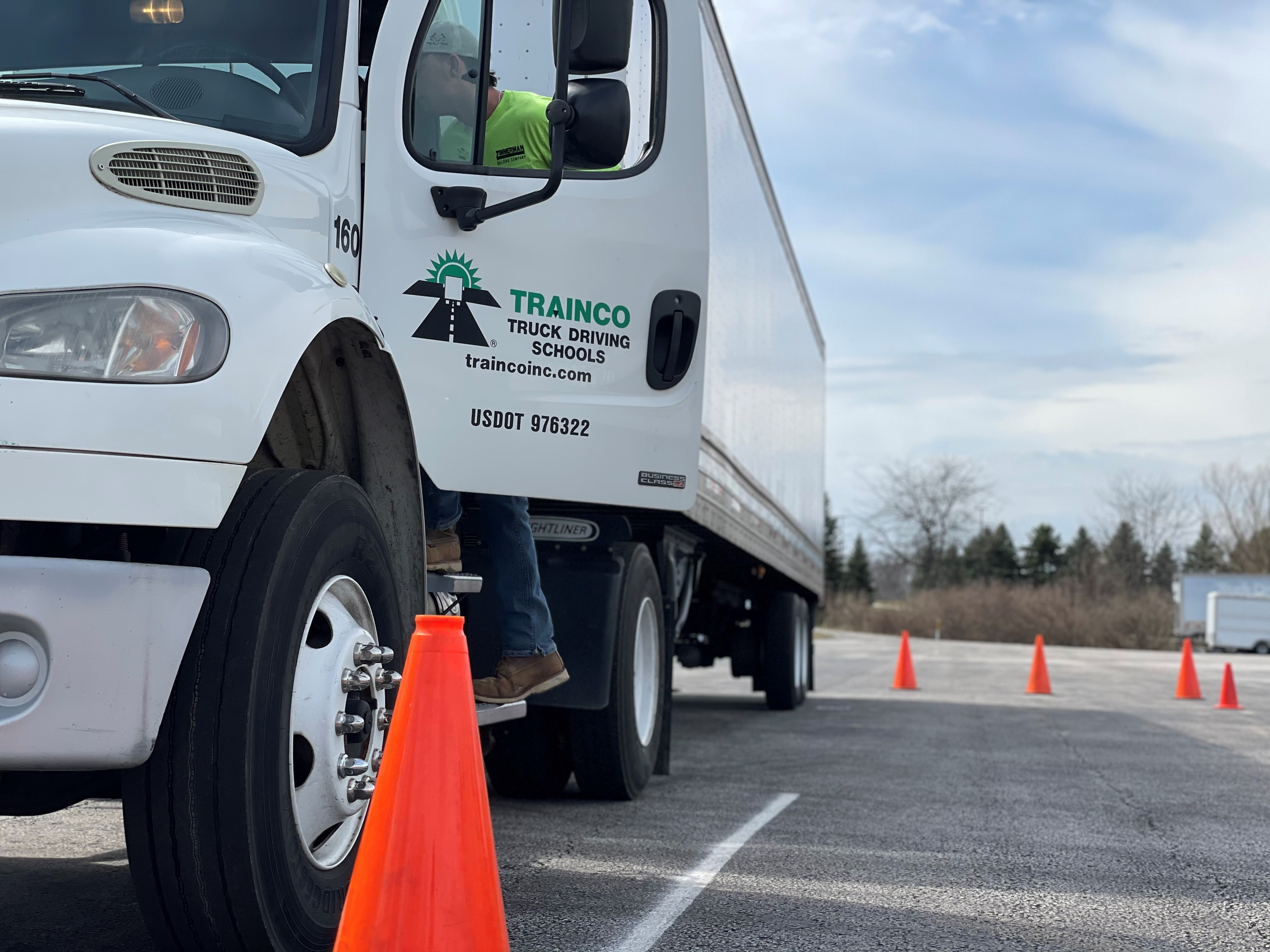 Financing Aids Growth of Truck Driving School